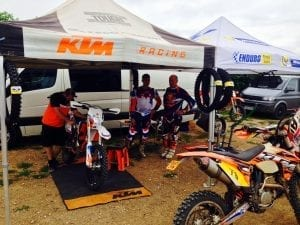 Fixing in the pits