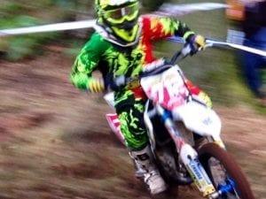 Enduro Racing Rider