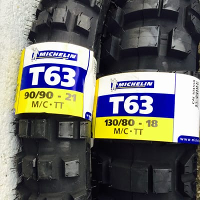 Michelin T63 tyres