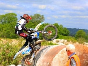 Enduro racing event