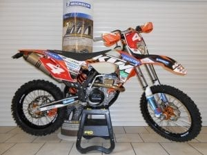 KTM off road motorcycle