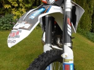 Enduro bike fork