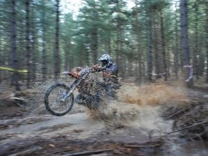 Enduro mousse Racing