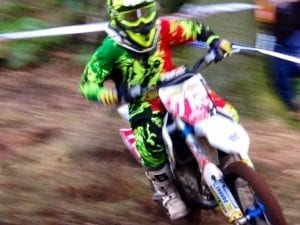 Enduro Racing Rider