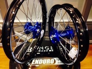 Talon engineering blue wheels