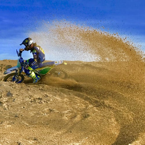 Lewis Ranger Dunkirk sand riding