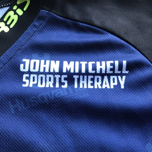 John Mitchell Sports Therapy sponsor of Endurotyres