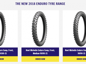 new Michelin Enduro tyre range
