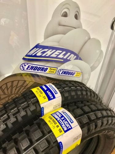 Michelin Trial X Light front and Rear Combo Deal