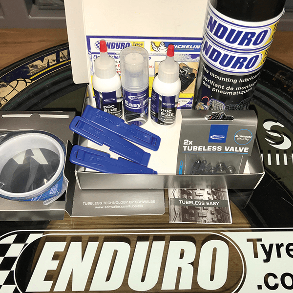 Tubeless service kit