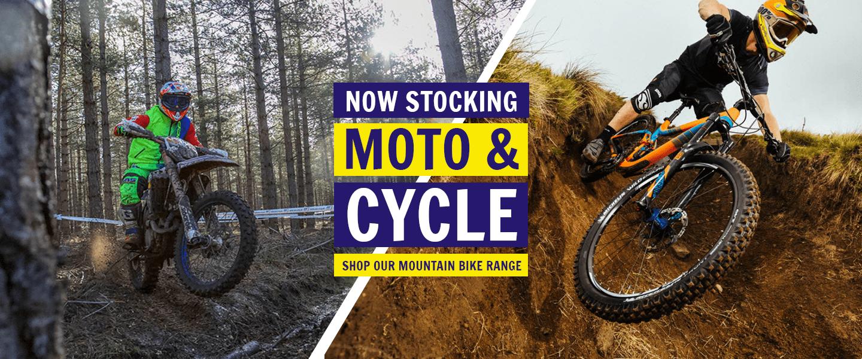 Now stocking Michelin Mountain bike tyres