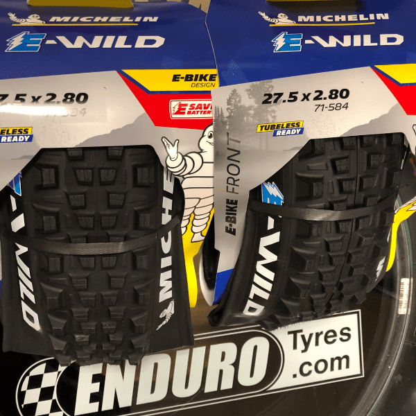 Michelin-E-Wild Bike Tyre