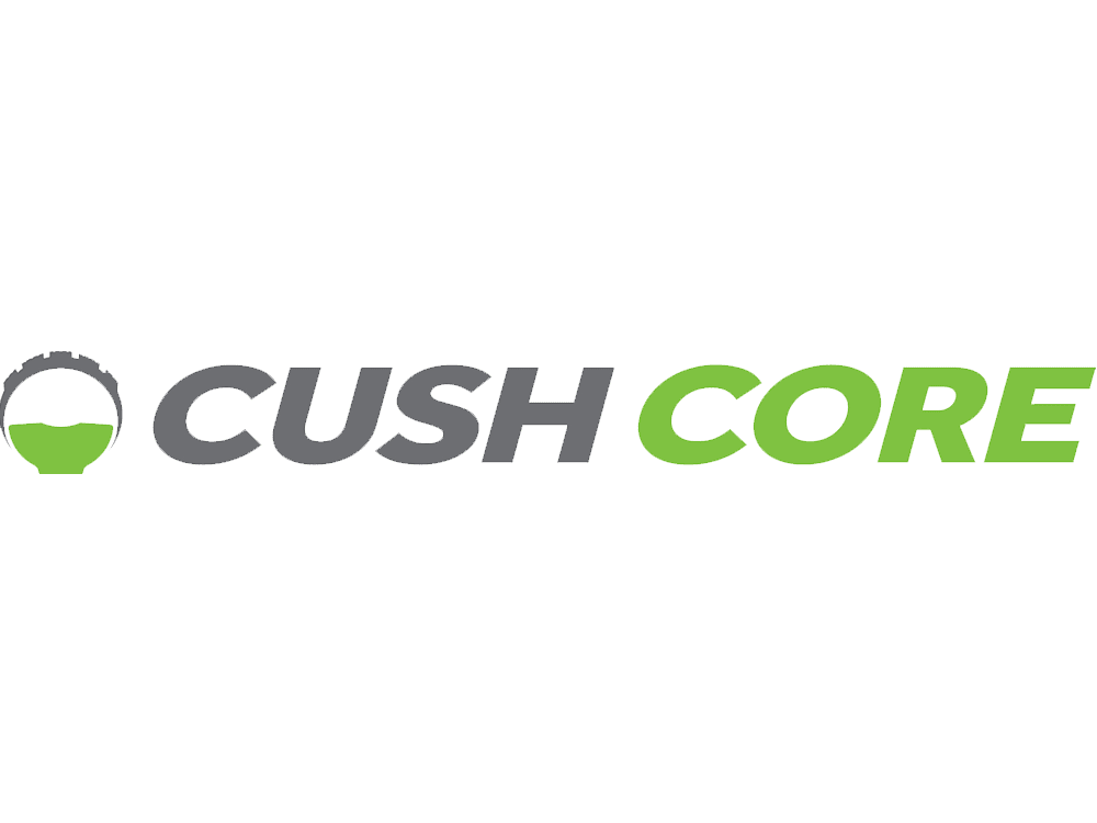 CushCore tyre suspension system logo
