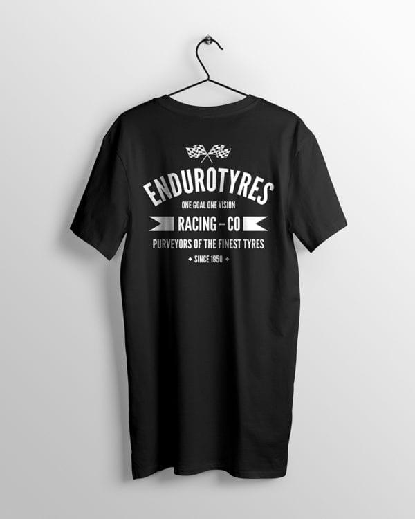 Endurotyres t-shirt back view